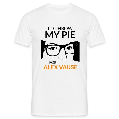 I'd Throw my Pie for Alex Vause - Men's T-Shirt