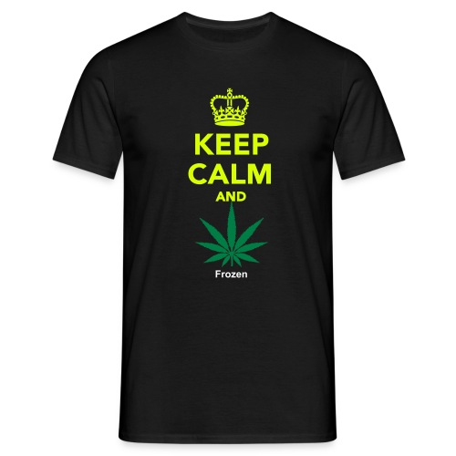 Keep Calm and Smoke - Männer T-Shirt