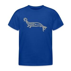 Ozeanien Seehund, grau - Kinder T-Shirt
