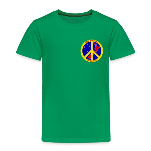 Kid's Nuclear Free NZ Shirt - Kids' Premium T-Shirt