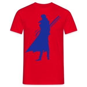 Oniwabanshu Aoshi - All Colour [Male] - Men's T-Shirt