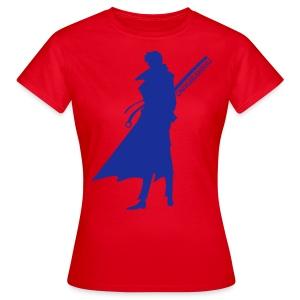 Oniwabanshu Aoshi - All Colour [Female] - Women's T-Shirt
