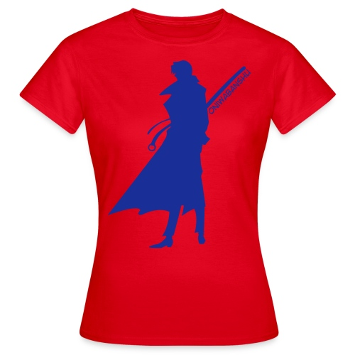 Oniwabanshu Aoshi - All Colour [Female] - Women's T-Shirt