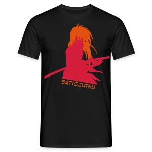 Battojutsu Kenshin - Black [Male] - Men's T-Shirt