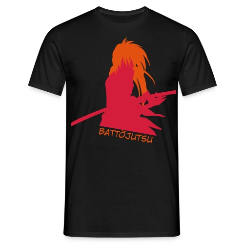 Battojutsu Kenshin - Black [Male] - Men's T-Shirt