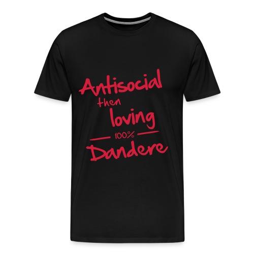 DANDERE - Premium-T-shirt herr