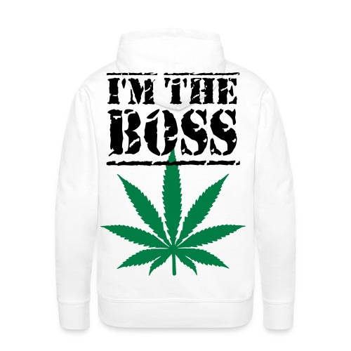 Boss-Weed-Partypullover - Männer Premium Hoodie