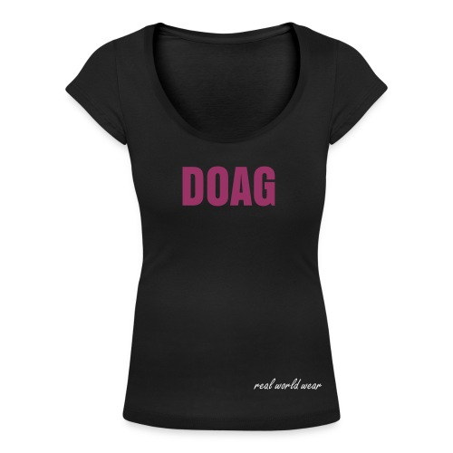 Vrouwen T-shirt met U-hals - words,word,woman,vrouw,viezerik,simple,shirt,pink,music,minds,meisjes,meisje,kleur,kleine,hiphop,great,gm,dutch,doag,black,Women
