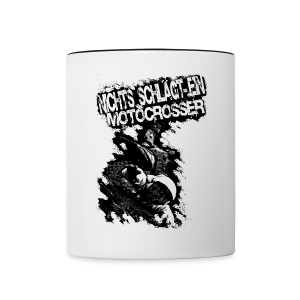 Nothing beats a... # Monsters of Motocross - Tasse zweifarbig