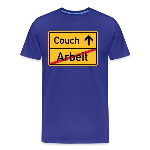 Couch / Arbeit - Männer Premium T-Shirt