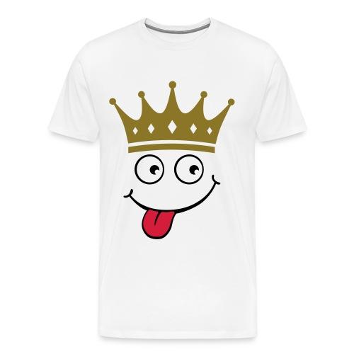 Crazy King - Men's Premium T-Shirt