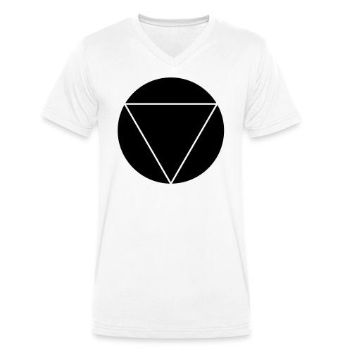 V V-Kragen T-Shirt - Männer Bio-T-Shirt mit V-Ausschnitt von Stanley & Stella