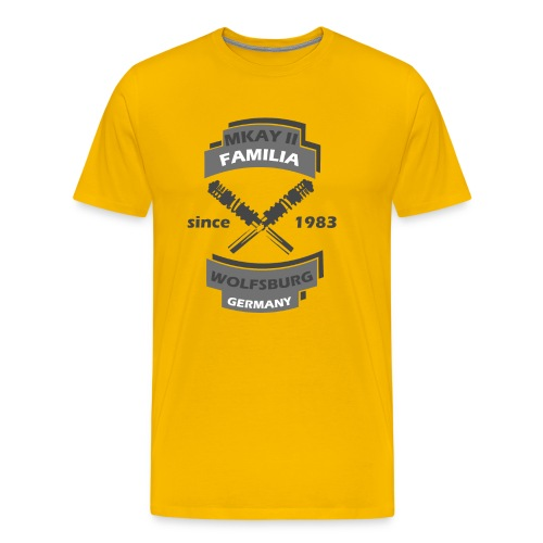 Mkay2 FamiliaWOB-T-Shirt - Männer Premium T-Shirt