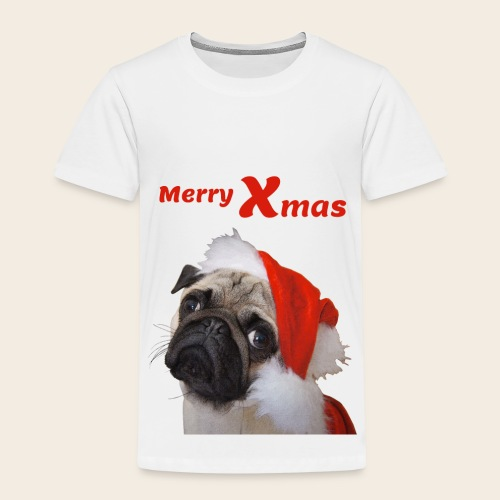 Merry Xmas Mops Kinder T-Shirt - Kinder Premium T-Shirt