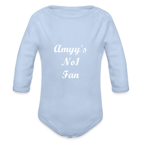 Baby Grow No1 Fan - Organic Longsleeve Baby Bodysuit