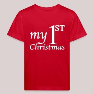 Babybody : My First Christmas - Babys erstes Weihnachten - Mein erstes Weihnachten - Kinder Bio-T-Shirt