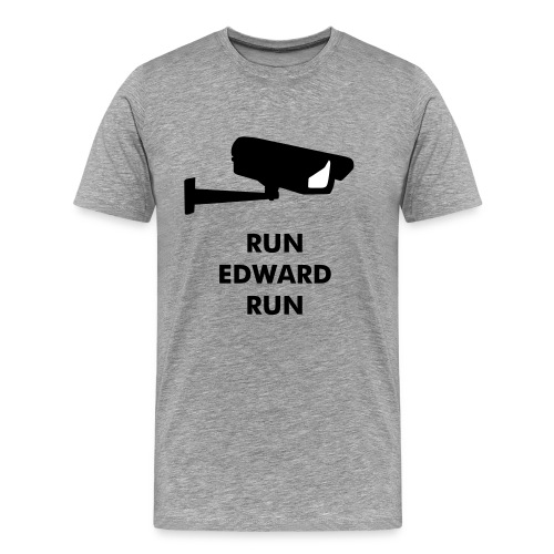 RUN EDWARD RUN - Männer Premium T-Shirt
