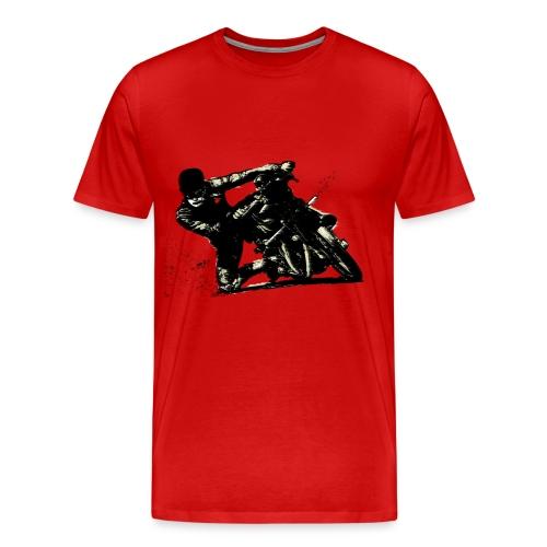 Motorider - Mannen Premium T-shirt