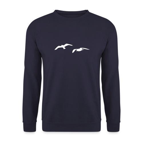 tier t-shirt möwe möwen sea gull seagull hafen beach harbour - Männer Pullover