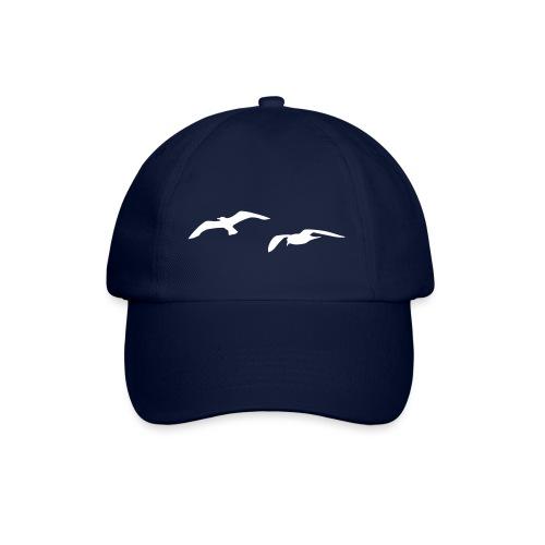 tier t-shirt möwe möwen sea gull seagull hafen beach harbour - Baseballkappe