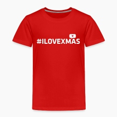 i love christmas xmas heart hashtag internet geek Shirts