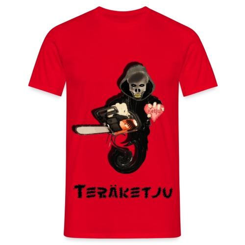 Teräketju Hirviö - Miesten t-paita