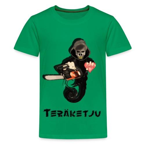 Teräketju Hirviö - Teinien premium t-paita