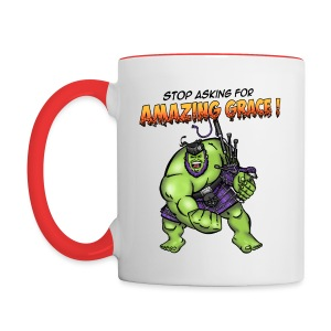 Stop Asking - Mug - Contrasting Mug