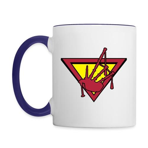 Super Piper - Mug - Contrasting Mug