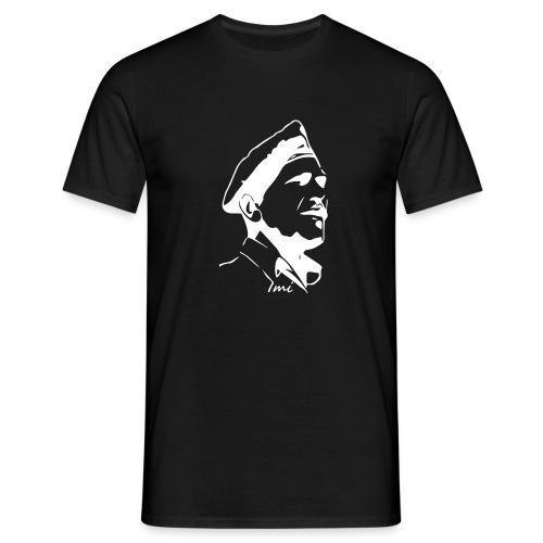Imi - Krav Maga ladies V-neck - White print - Mannen T-shirt