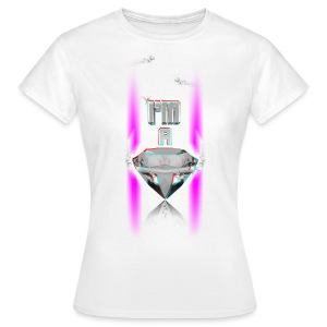 T SHIRT 3D  I'M A DIAMOND by Florian VIRIOT - T-shirt Femme