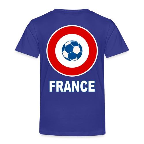football, cocarde tricolore, couleurs France - Kids' Premium T-Shirt