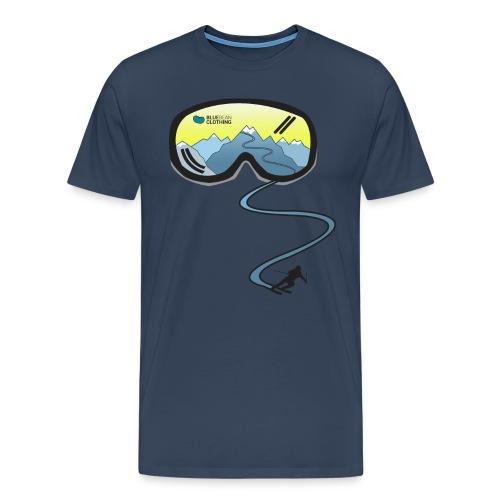 Shirt Skibrille - Männer Premium T-Shirt