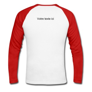 T-Shirt Manches longues - T-shirt baseball manches longues Homme
