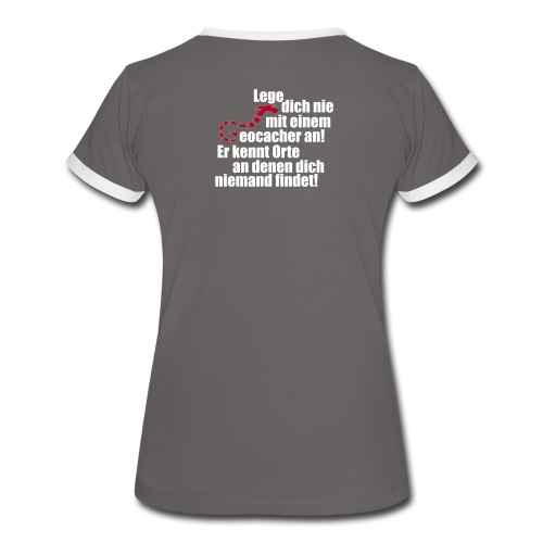 Leg' dich nicht mit uns an! - Girls - Frauen Kontrast-T-Shirt