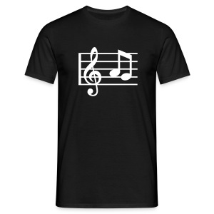 Music Notes - Classic Shirt - Männer T-Shirt
