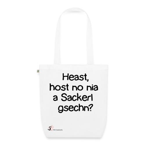 Bio-Baumwolltasche - Österreich Dialekt Heast - Bio-Stoffbeutel