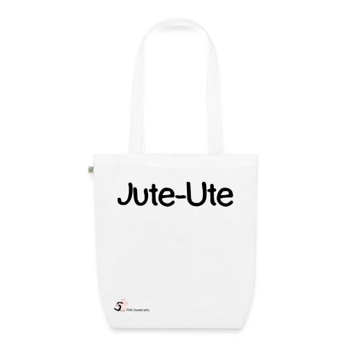 Bio-Baumwolltasche Jute-Ute - Bio-Stoffbeutel