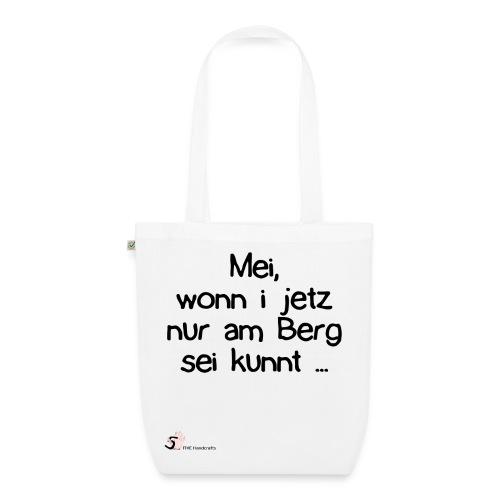 Bio-Baumwolltasche - Österreich Dialekt Berg - Bio-Stoffbeutel