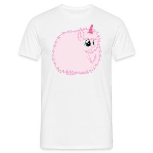 Pink Fluffy Unicorn - Men's T-Shirt