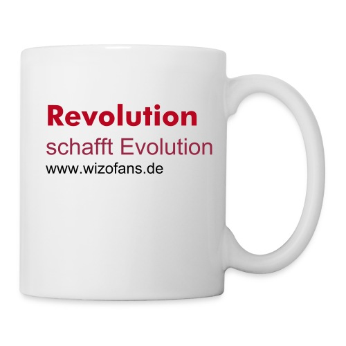 Revolution schafft Evolution Tasse - Tasse