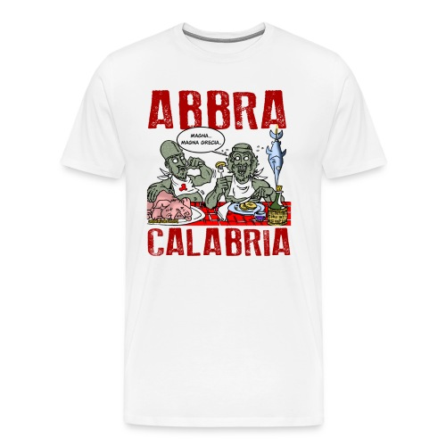 ABBRA CALABRIA - Maglietta Premium da uomo