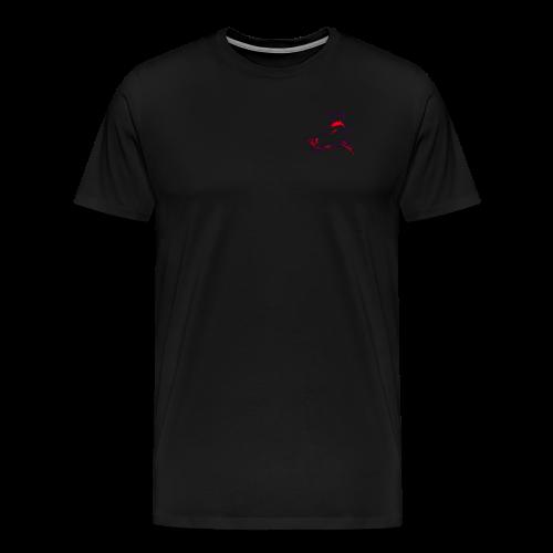 hund rot - Männer Premium T-Shirt