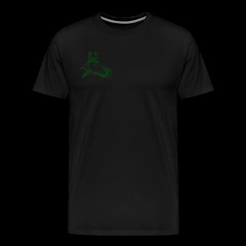 hund grün - Männer Premium T-Shirt