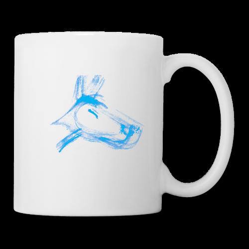 tasse hund blau - Tasse
