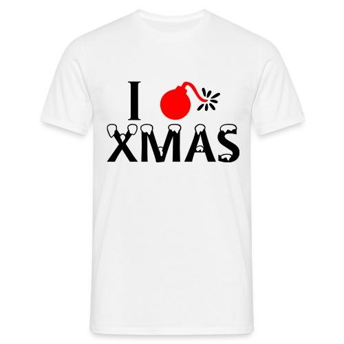 I Hate Xmas - Männer T-Shirt