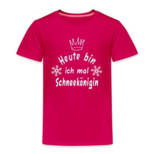 Heute mal Schneekönigin, Weihnachten, Winter - Kinder Premium T-Shirt