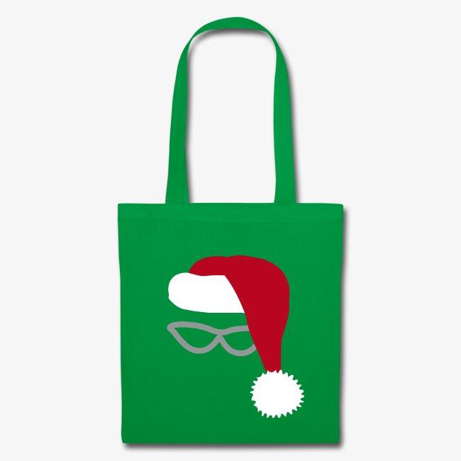 Christmas Unique Designers Santa Tote Bag