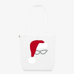 Chistmas Santa tote bag - EarthPositive Tote Bag