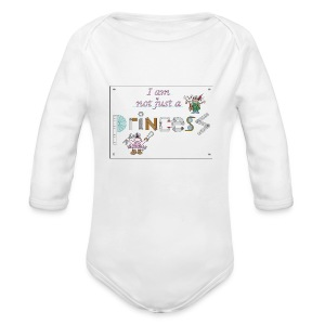 I am not just a princess - Longlseeve Baby Bodysuit